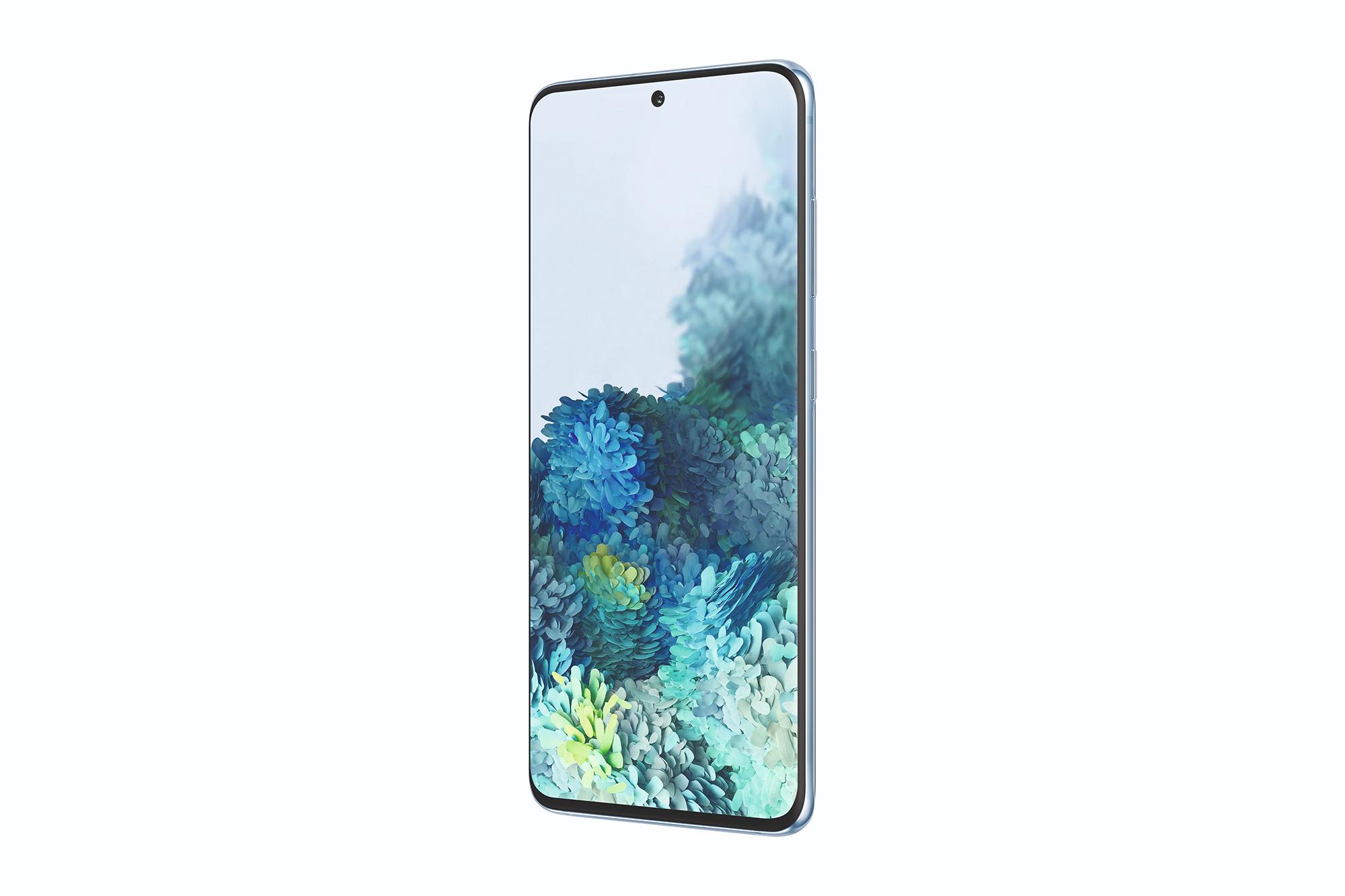 Samsung Galaxy S20 von der Seite