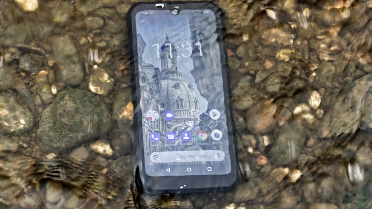 Outdoor-Handy Gigaset GX290 im Test: Endgegner Elbe?