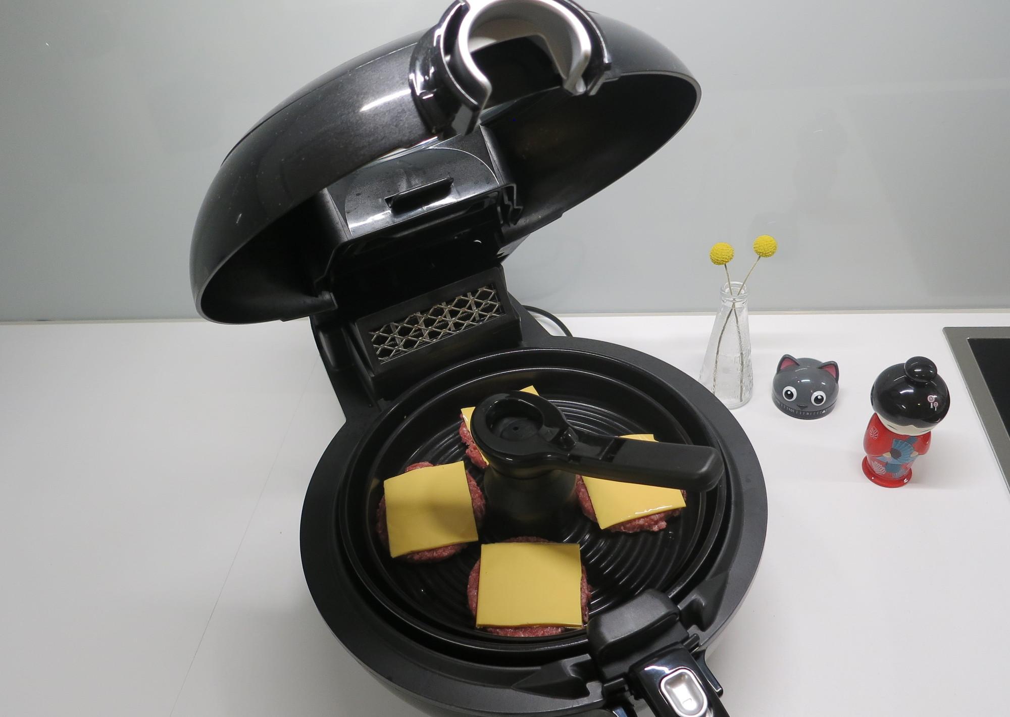 Heißluftfritteuse Tefal ActiFry Genius XL 2in1 mit Grillteller und Griff