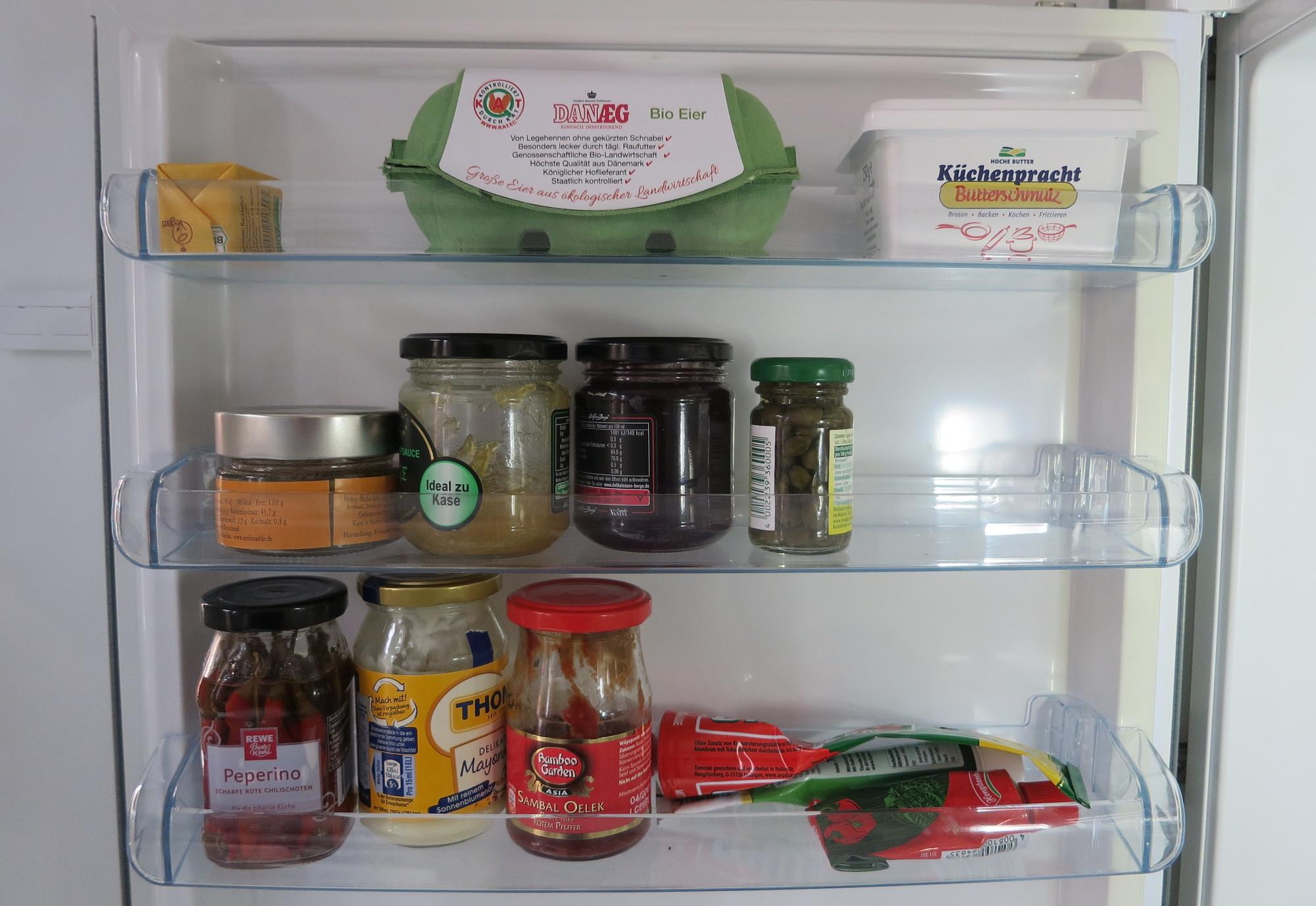 Kühlschranktür oben