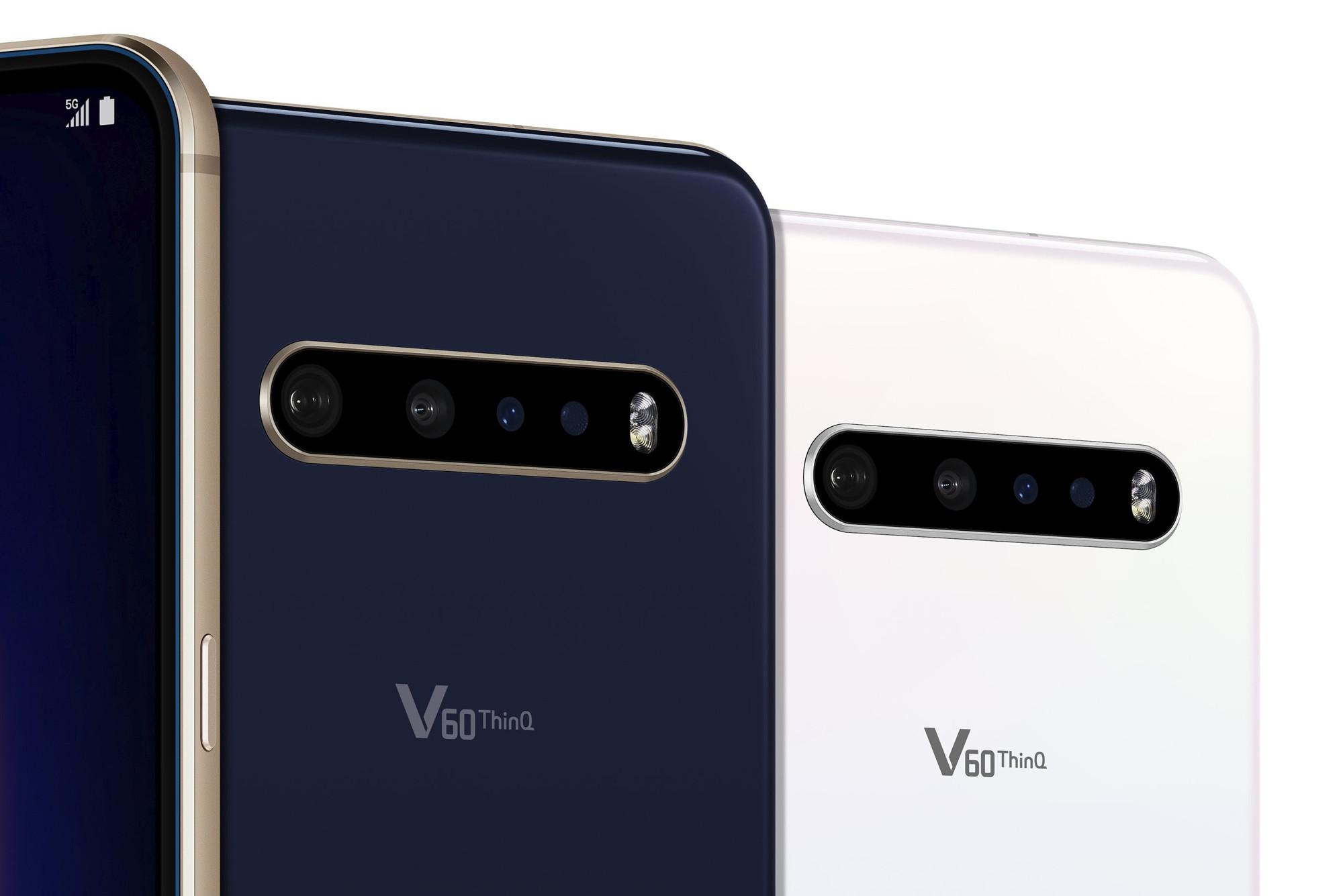 Kamera des LG V60 ThinQ 5G Dual Screen