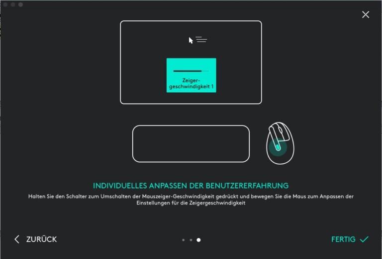 Software Logitech MX Vertical