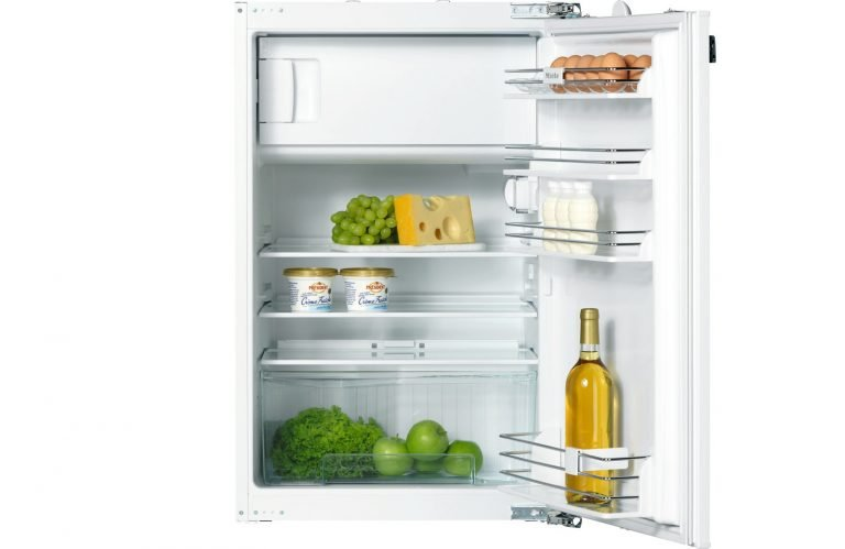 Aufteilung im Miele-Kühlschrank