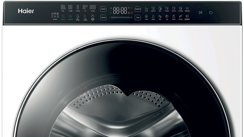 Waschtrockner Haier Super Drum mit Display