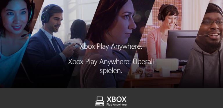 Xbox Play Anywhere: Xbox-Spiele direkt auf dem PC installieren oder dort weiterspielen
