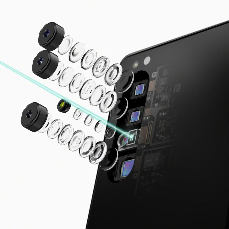 Besonderheit: Die Kamera des Sony Xperia 1 II. (Foto: Sony)