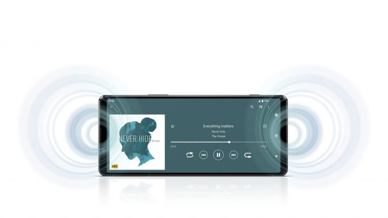 Stereo-Lautsprecher und 3D-Raumklang. (Foto: Sony)