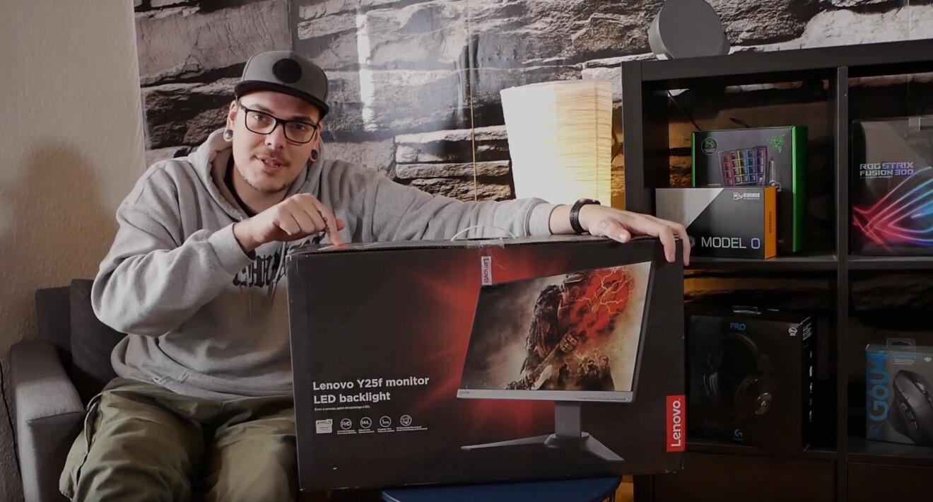 Lenovo Legion Y25F-10 Gaming Monitor: Mittelklasse zum fairen Preis