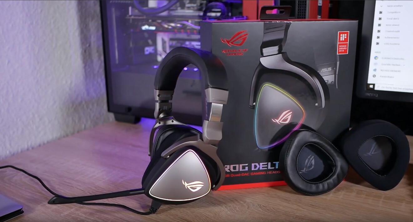 Asus ROG Delta: Das eckige Gaming-Headset