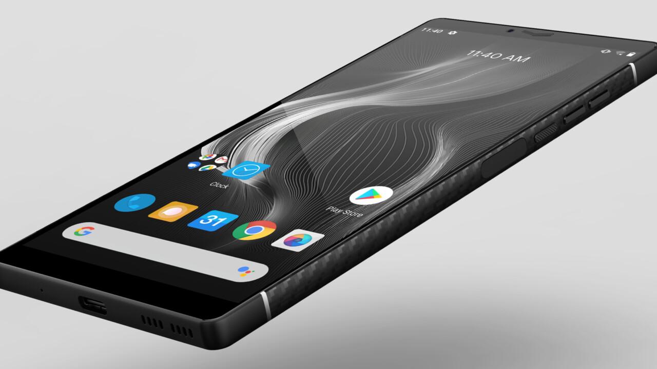 Carbon macht das Smartphone leicht