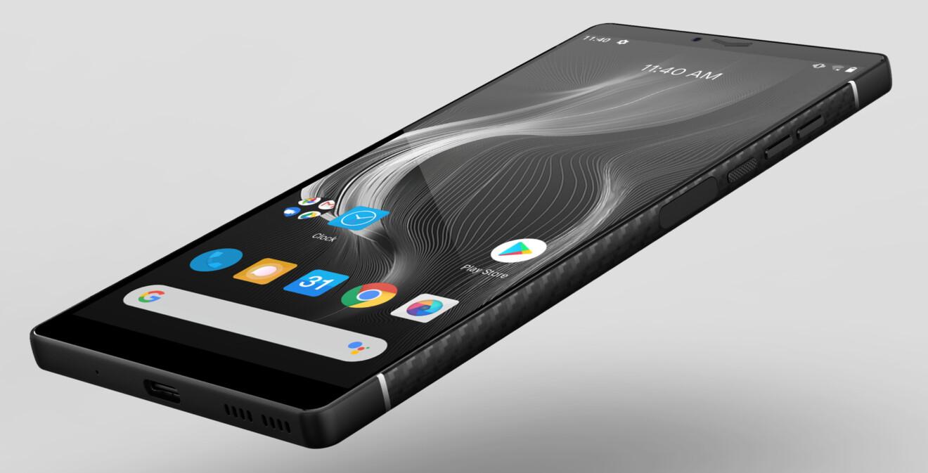 Smartphone Carbon I Mark II