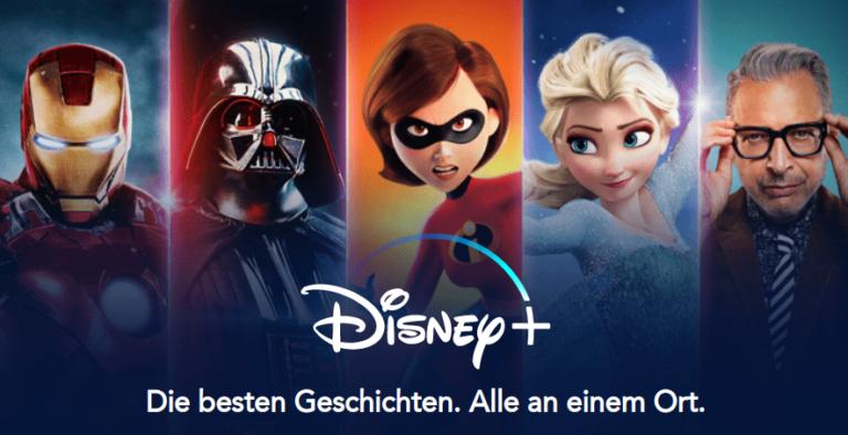 Disney Plus über Sky