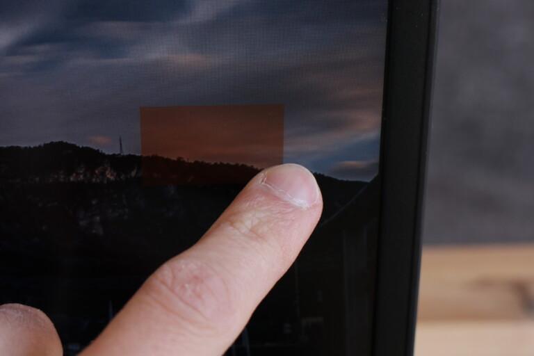 Angenehm: Das Teca X40-F hat einen Touchscreen.