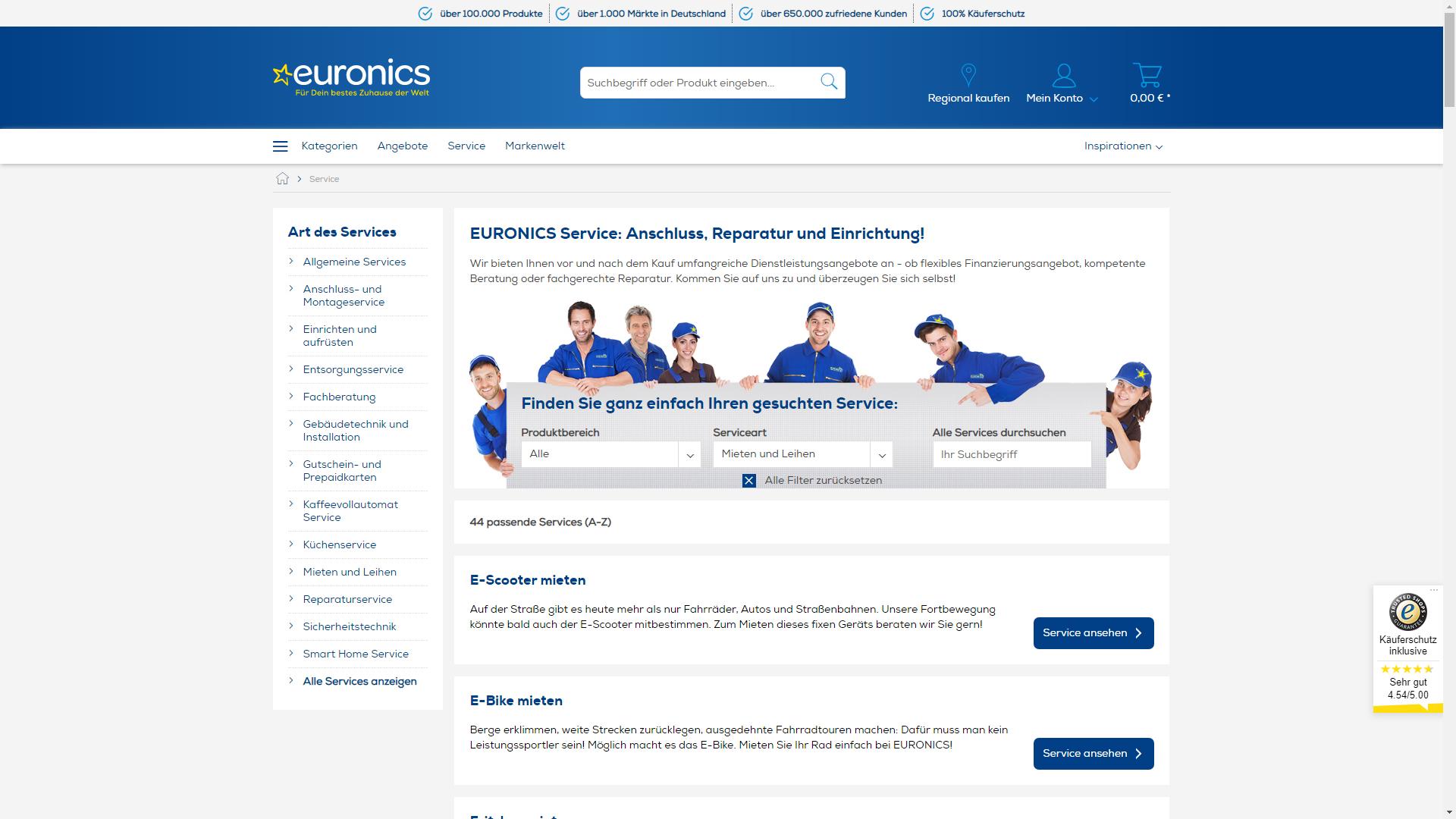 Euronics.de - mieten statt kaufen