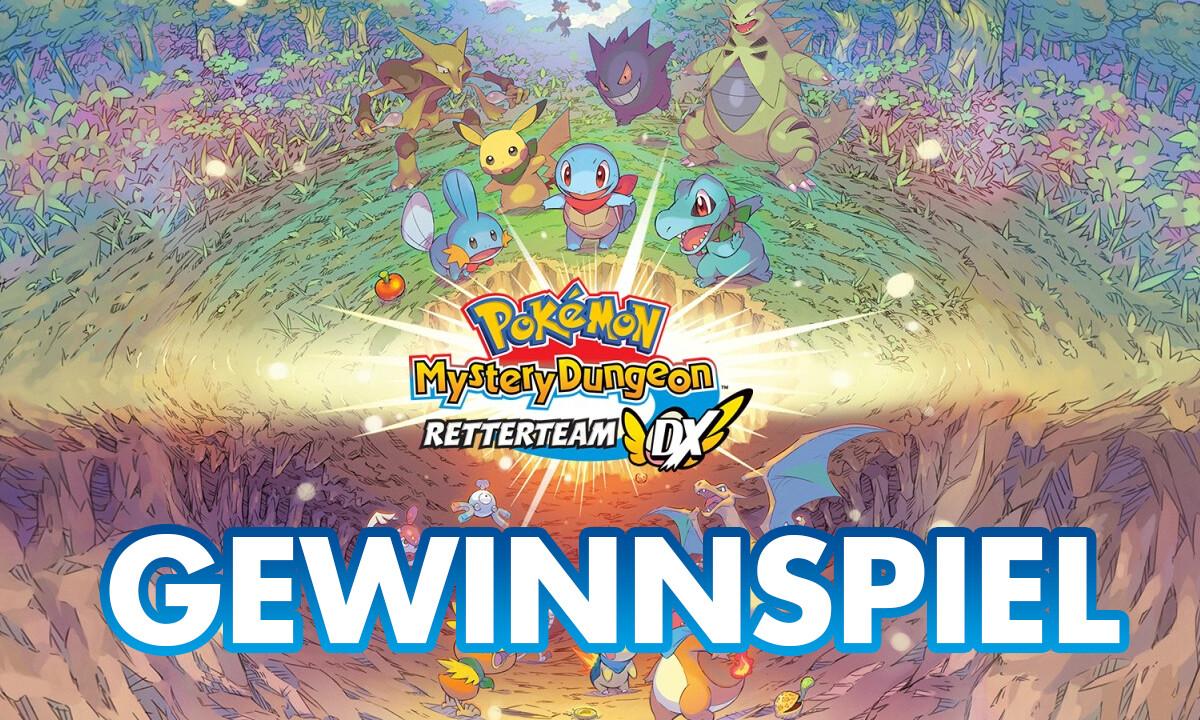 [Aktion beendet] Gewinnspiel: 3x Pokémon Mystery Dungeon Retterteam DX