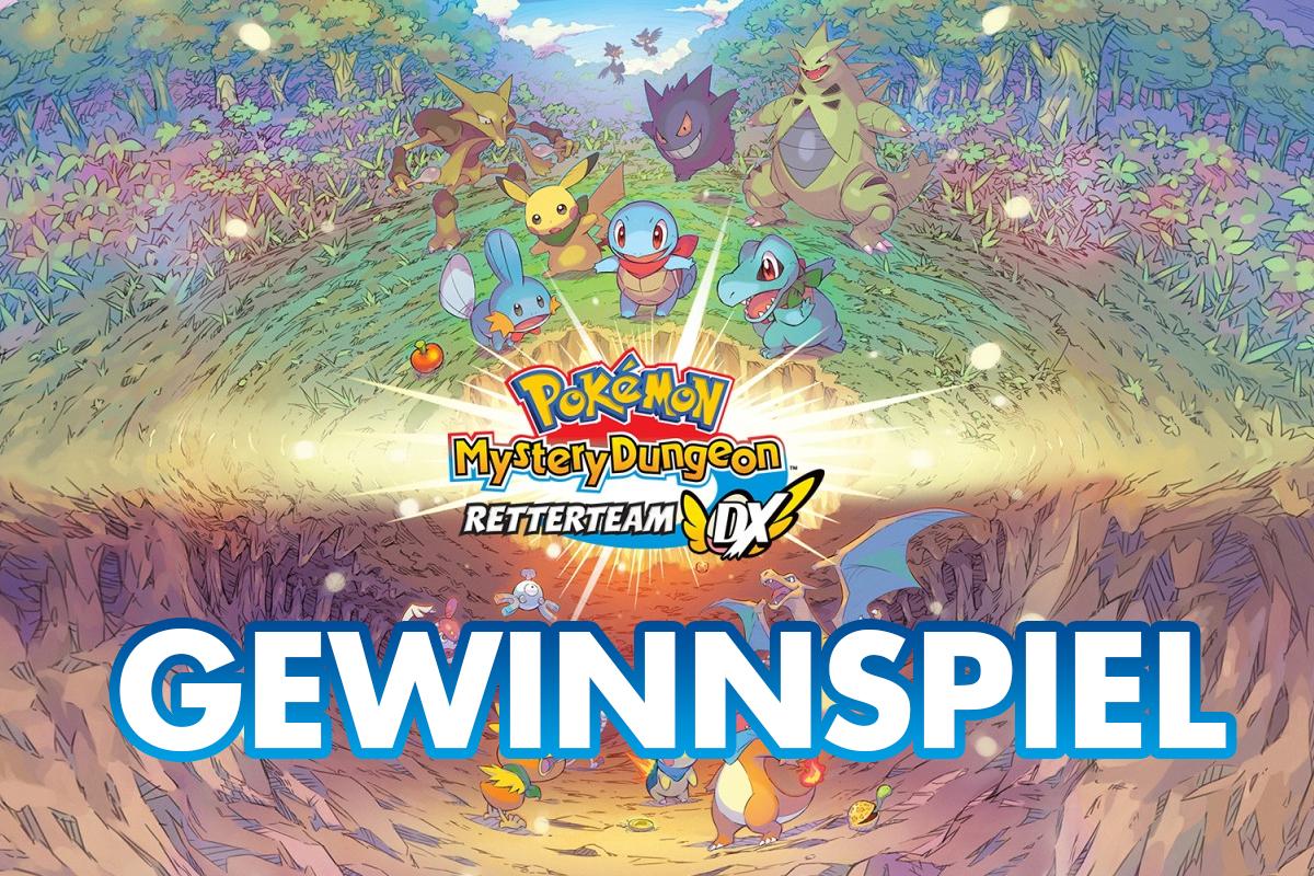 Gewinnspiel: 3x Pokémon Mystery Dungeon Retterteam DX