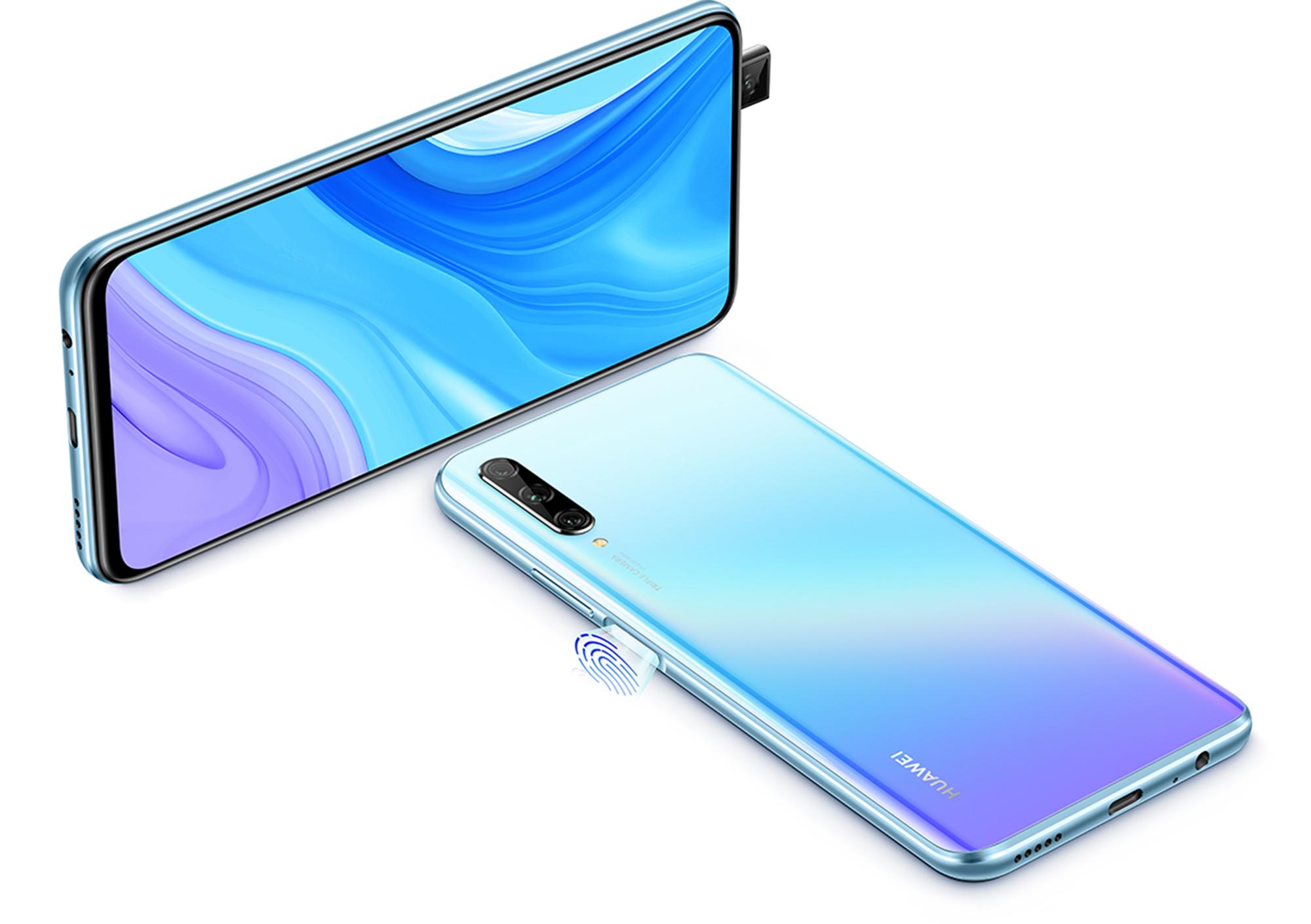 Kamera und FIngerabdrucksensor des Huawei P Smart Pro