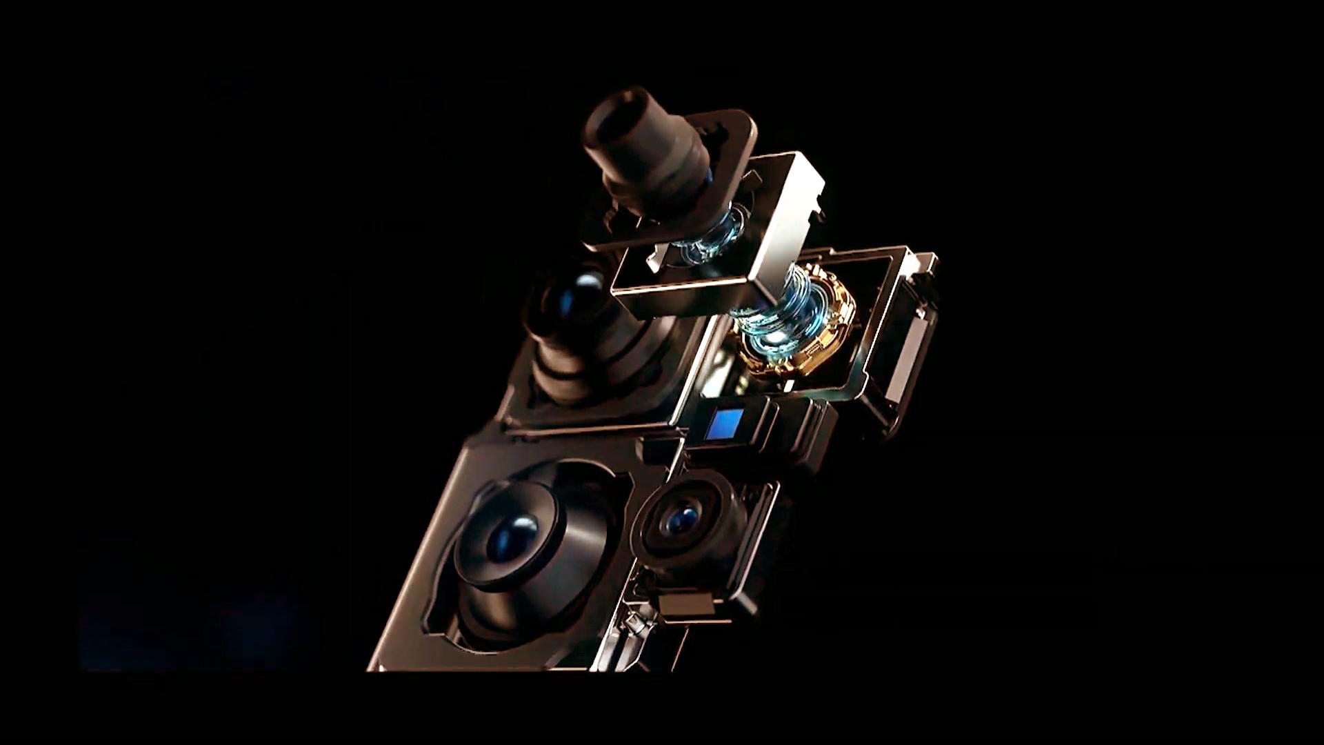 Kamera-Array des Huawei P40 Pro