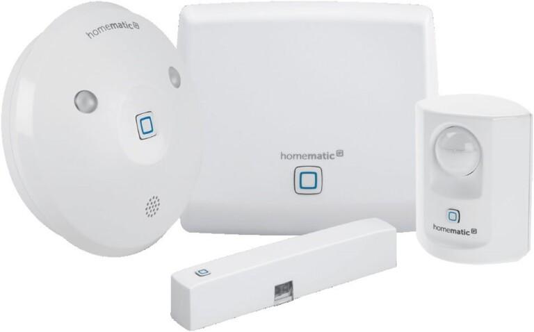 Es fängt mit Smart-Home-Sicherheit an und führt mit diesem System zu einem vollwertigen Smart Home. (Foto: Homematic)