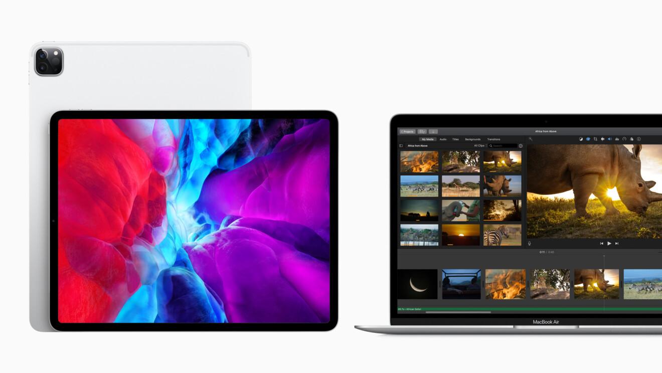 Apple iPad Pro und MacBook Air