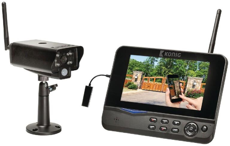 Auch eine Art Smart-Home-Sicherheit - diese klassische Überwachungskamera. (Foto: König)