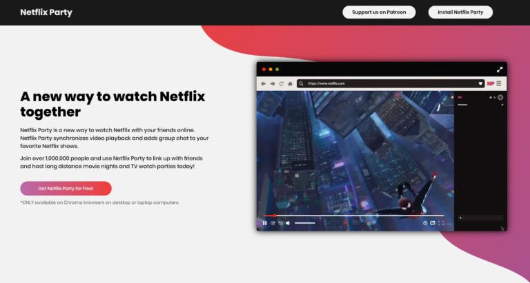 netflix-party-website