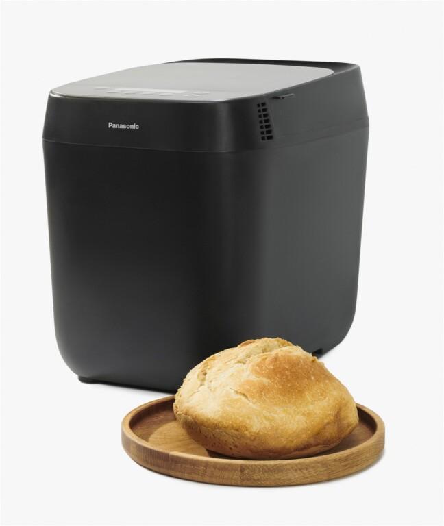 Schnell gibt's ein frisch gebackenes Brot - auch mit Sauerteig. (Foto: Panasonic)