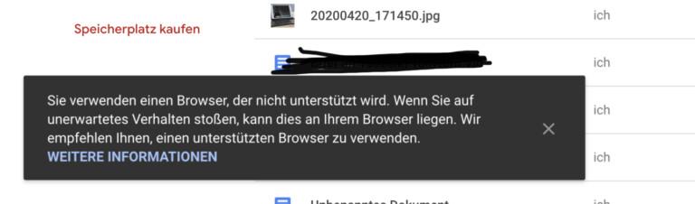 Nix da, Firefox, nimm doch lieber Chrome oder unsere App!