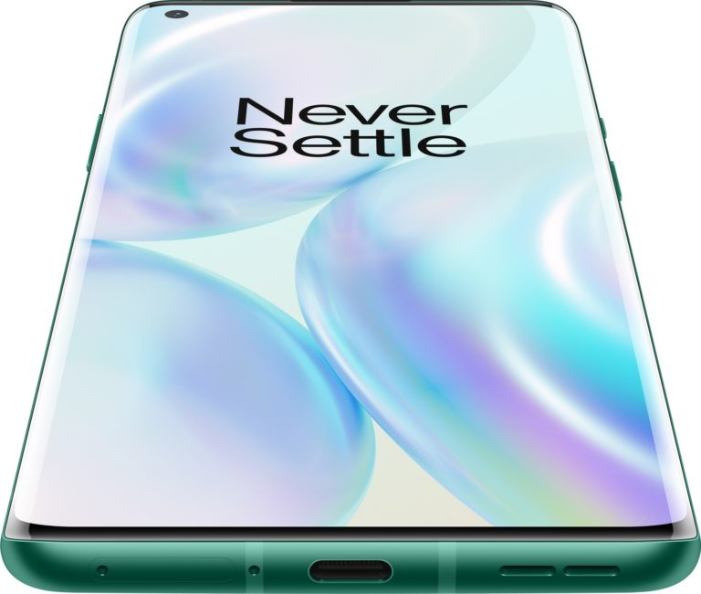 Hier im Bild: Glacial Green für das OnePlus 8 Pro. (Foto: OnePlus)