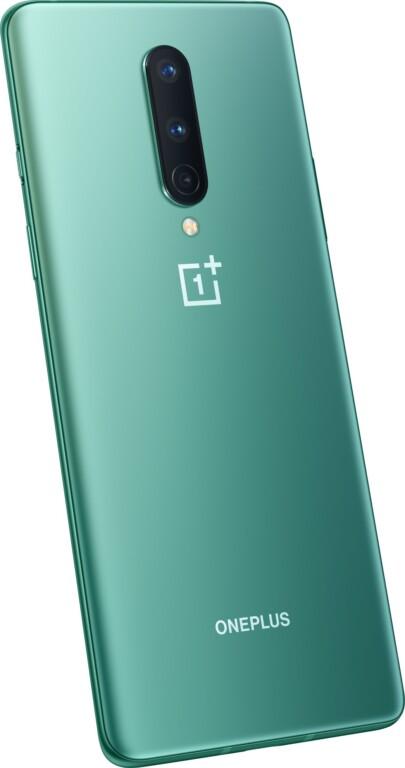 Glacial Green vom OnePlus 8. (Foto: OnePlus)