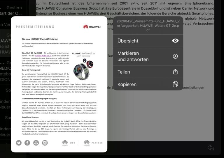 Du willst ein PDF speichern? Nix da Bürschli! Du kannst es nur bearbeiten oder teilen.
