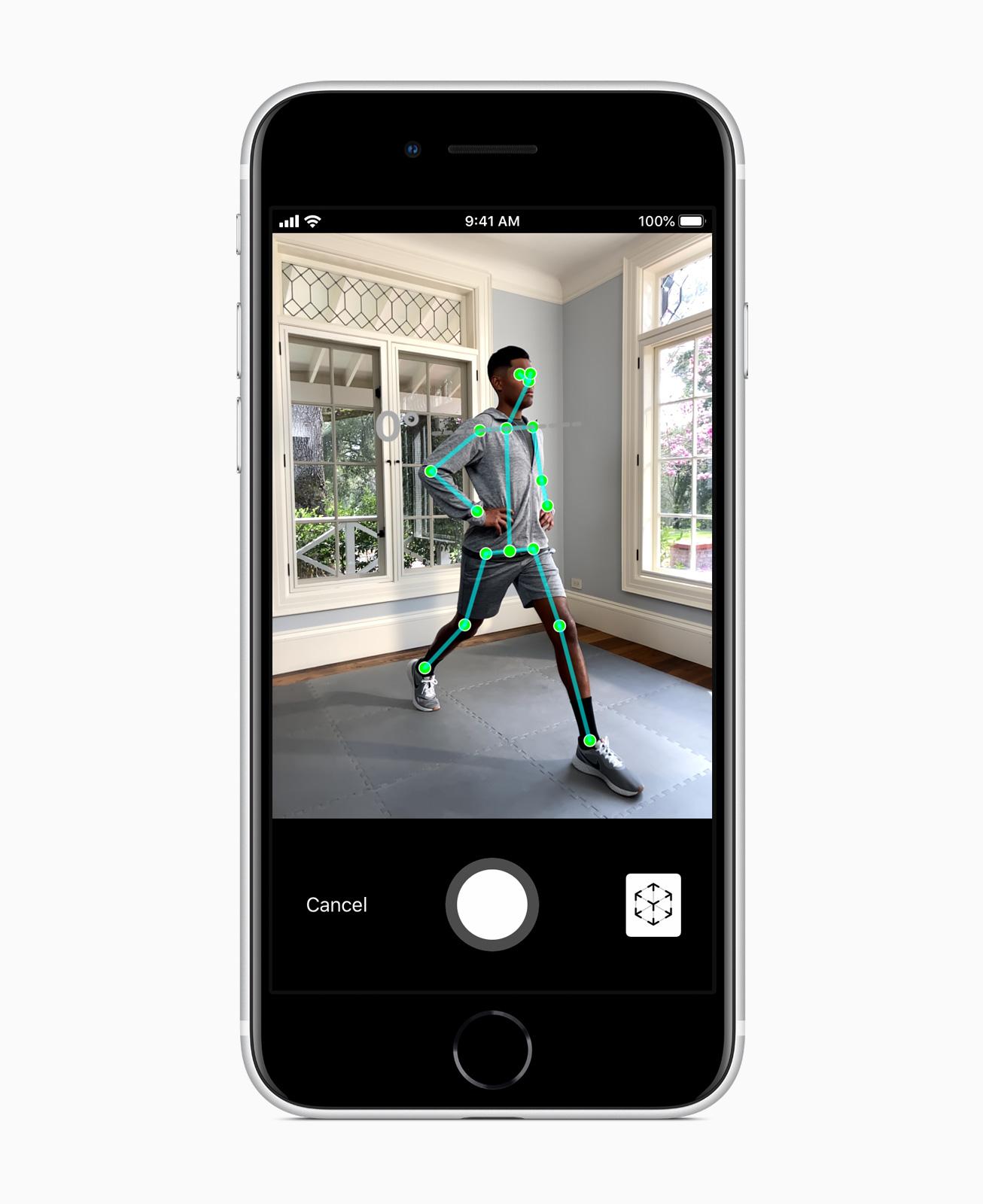 AR im iPhone SE