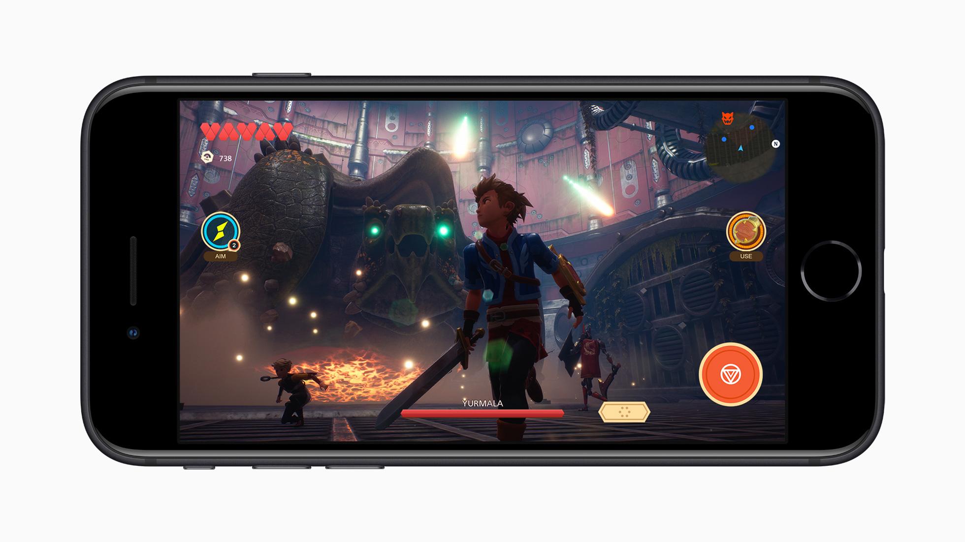 Spielen auf iOS