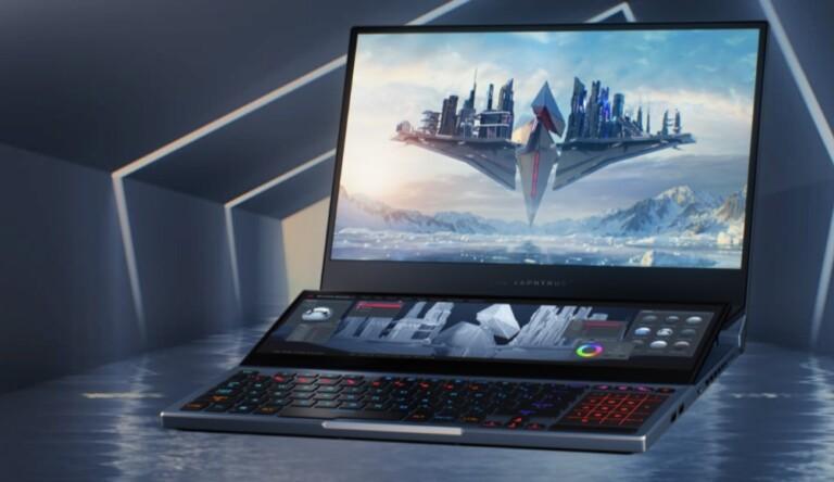 Neue Gaming-Notebooks wie hier das Asus ROG Zephyrus Duo 15