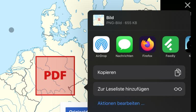 """""""Teilen"""" würde wir diese Grafik gerne mit der Dateien-App. Aber das ist unter iPadOS 14.0 nicht möglich."""