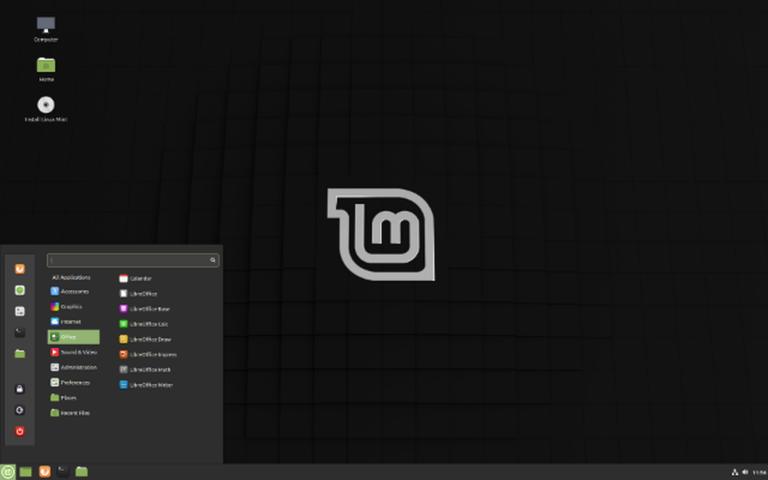 Linux Mint mit dem Cinnamon-Desktop