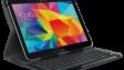 Samsung-Android-Tablet mit einem Logitech-Keyboard