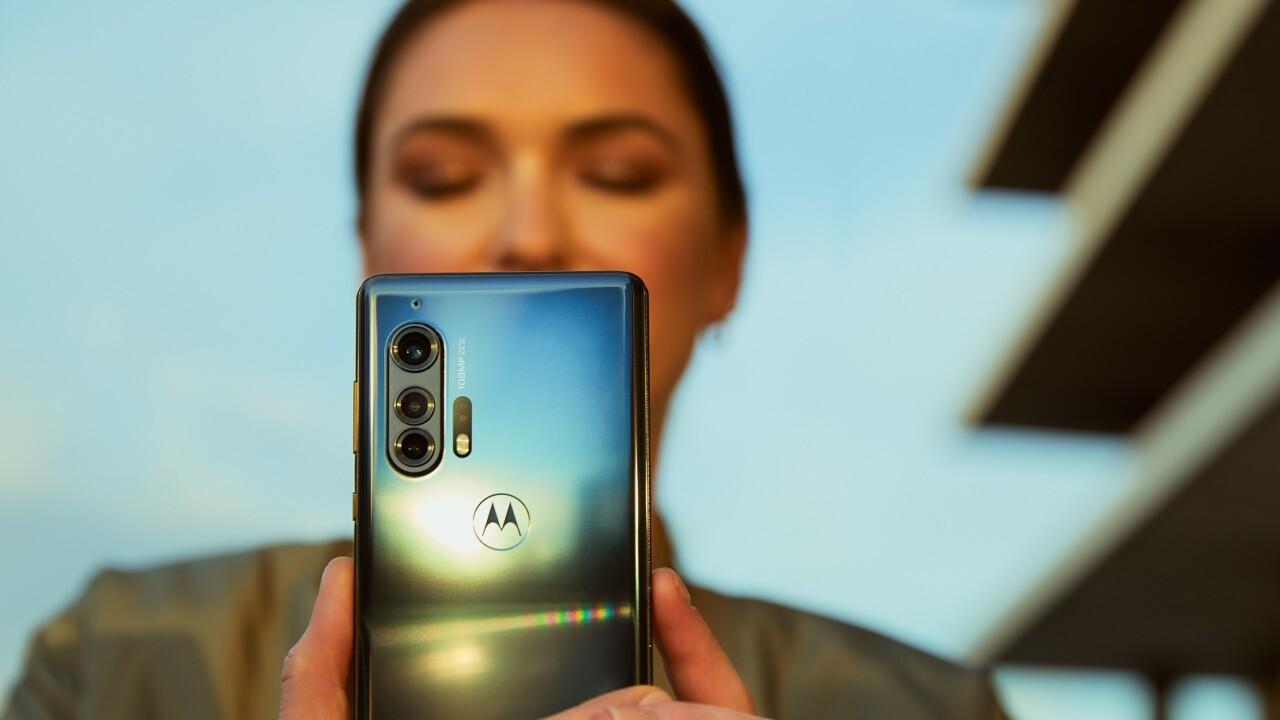 Motorola Edge Plus: Willkommen (zurück) an der Spitze!