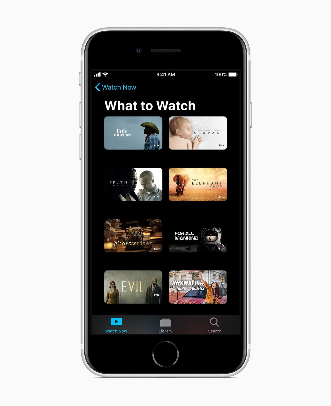 Services im iPhone SE