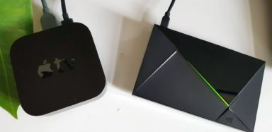 Apple TV und Nvidia Shield Pro bieten 4K-Entertainment. (Foto: Sven Wernicke)
