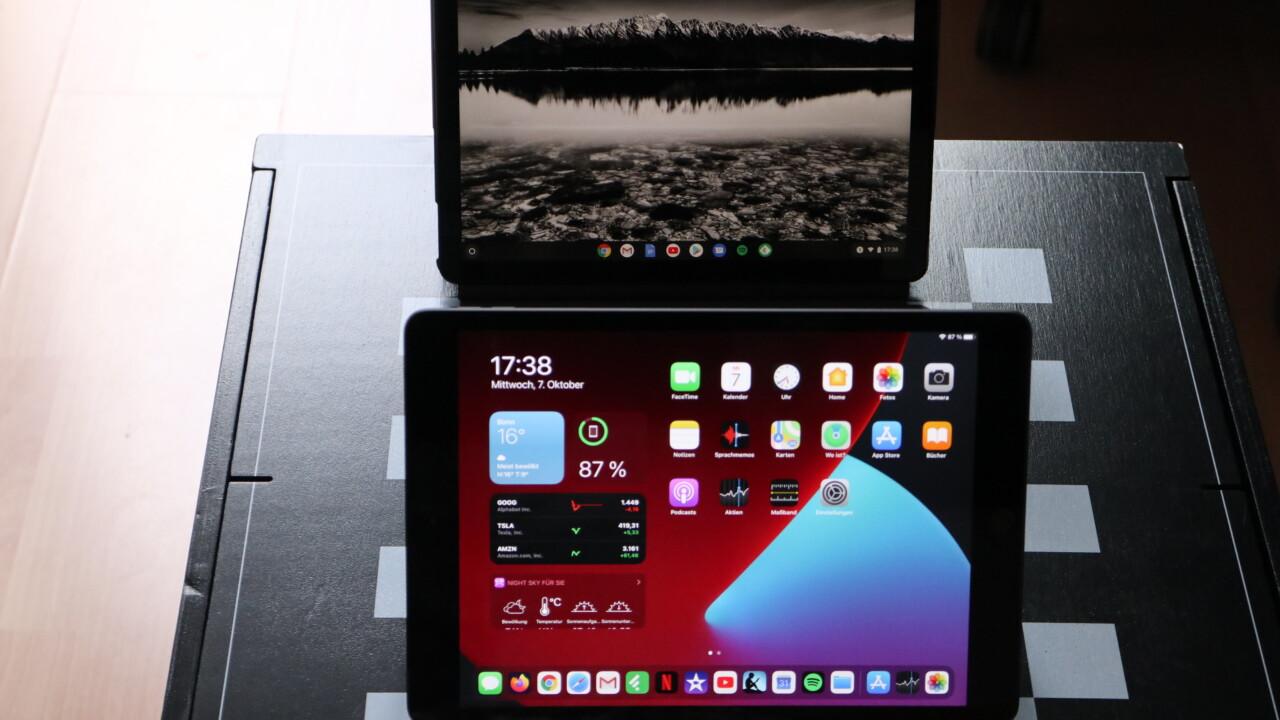 iPad 8 vs. Lenovo IdeaPad Duet Chromebook: Starke Leistung gegen Superdeal