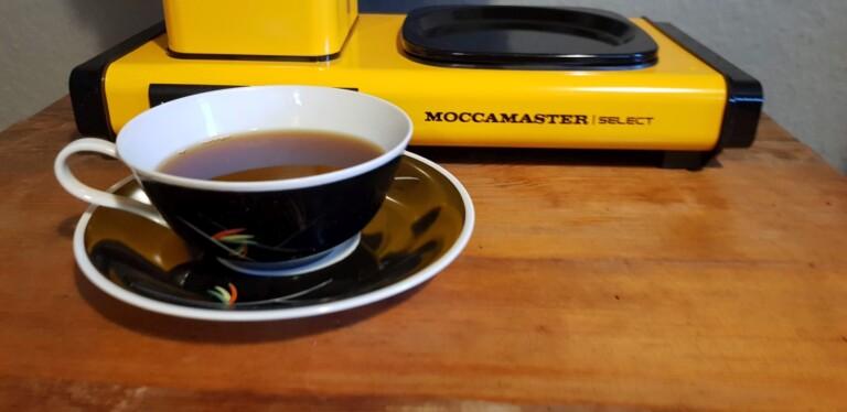 Das war übrigens mein erster Kaffee nach dem Auspacken. Mittlerweile ist dieser doch etwas dunkler... (Foto: Sven Wernicke)