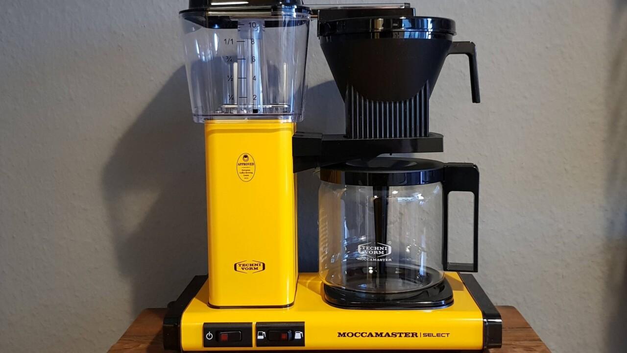 Moccamaster KBG Select im Test: Eine Kaffeemaschine, die Spaß macht