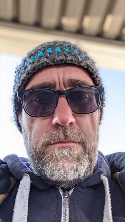 Selfie mit Bokeh-Effekt. KI macht es möglich. (Foto: Sven Wernicke)