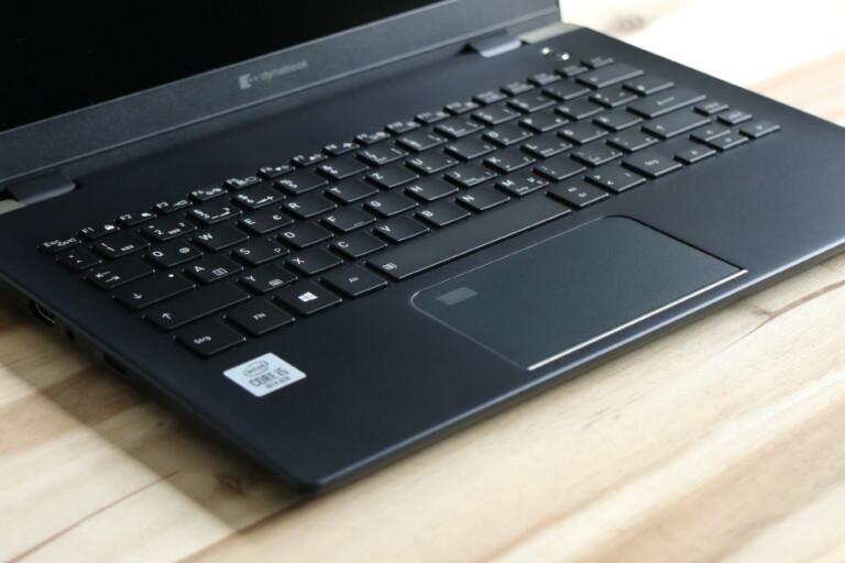 Tastatur des Dynabook X30L-G