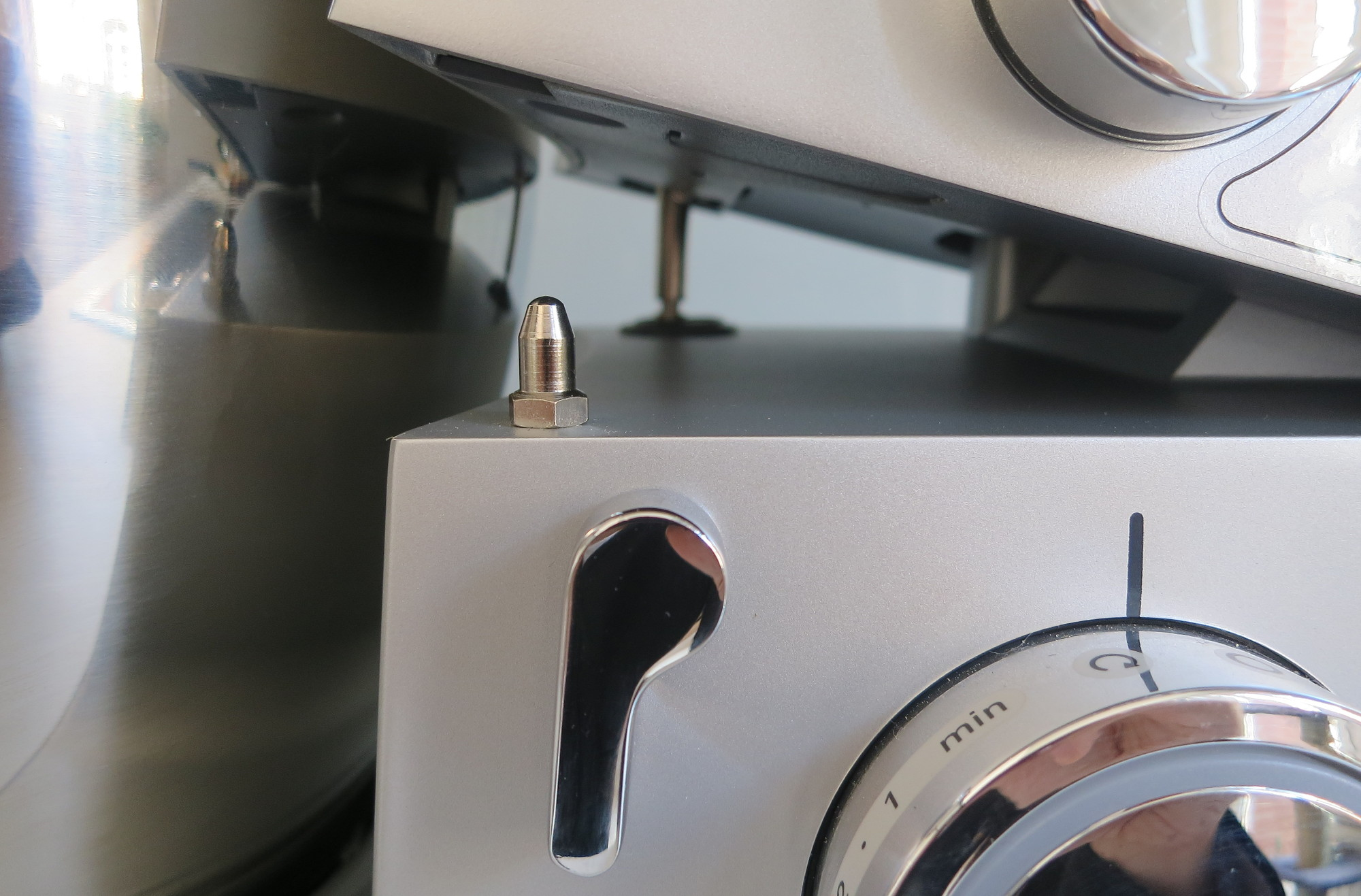 Öffnungsmechanismus der Kenwood Cooking Chef Gourmet