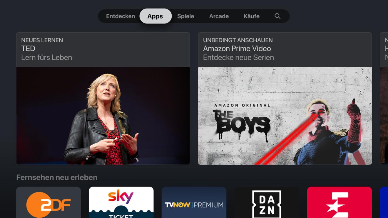 Die besten Apps für Apple TV: Mehr als nur Streaming und Spiele