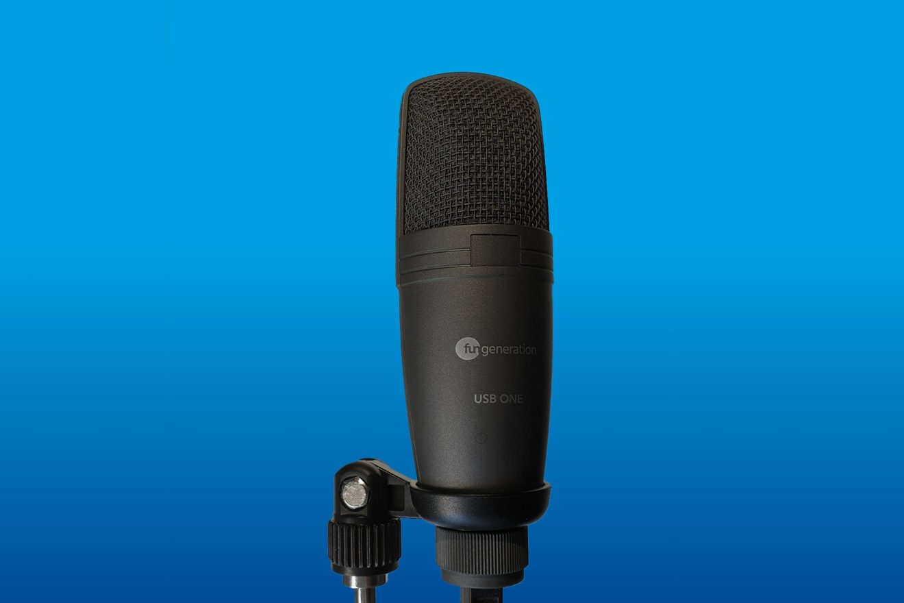 Fun Generation USB One: Was taugt ein 20-Euro-Mikrofon?