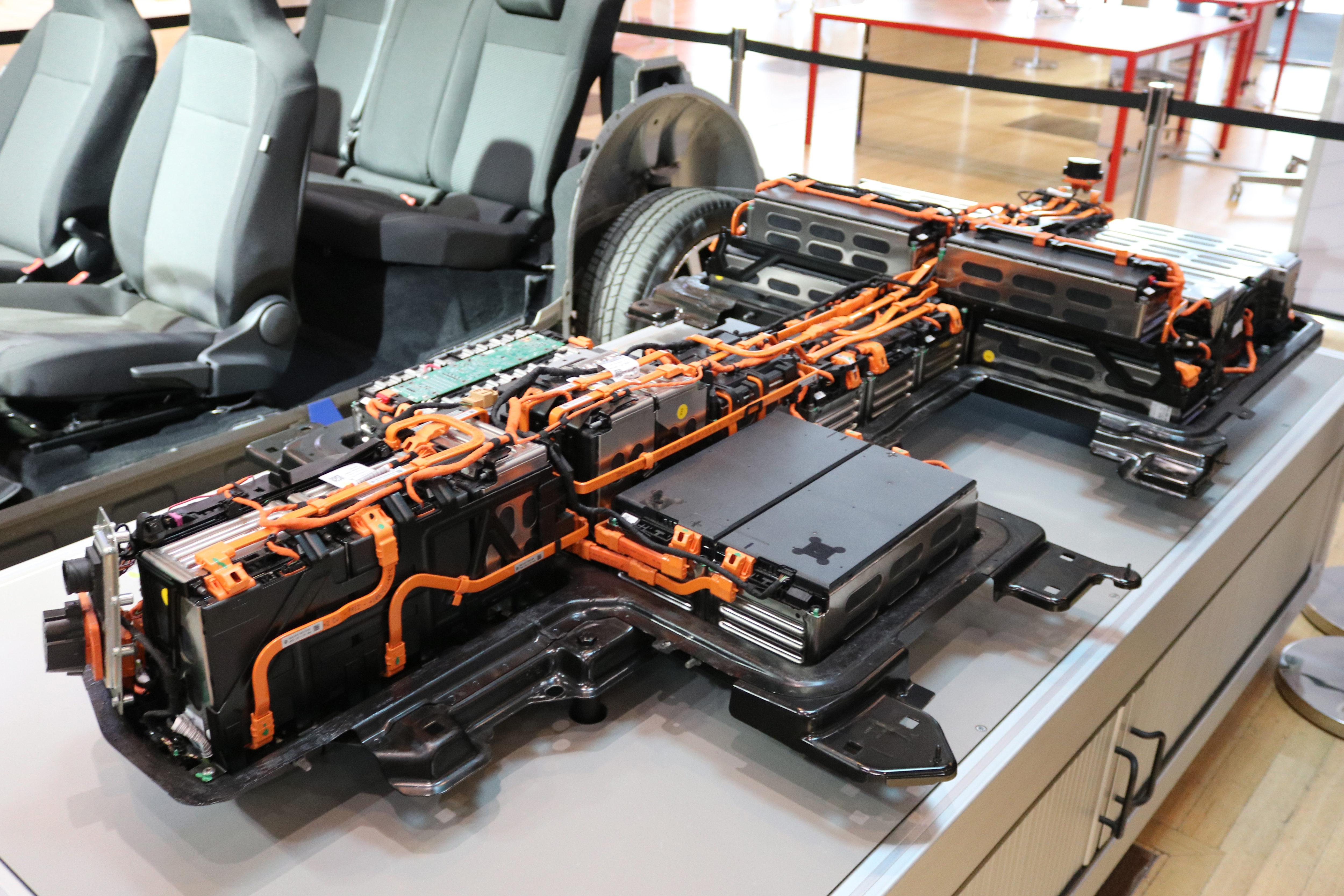 Batterie des VW MEB