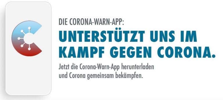 Familiärer Ton der Bundesregierung im Aufruf zur Nutzung der Corona-Warn-App